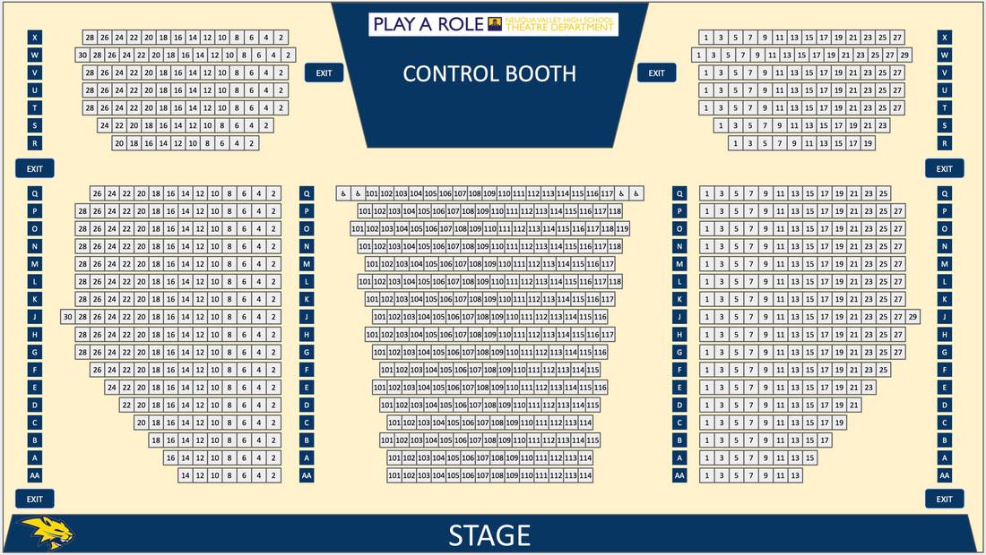 TPA Take-A-Seat - Neuqua Valley Theatre