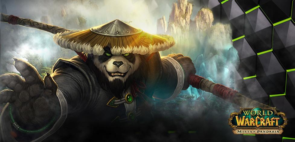 Panda Anime Wallpaper Free Pandaren Monk Pet Geforce Geforce