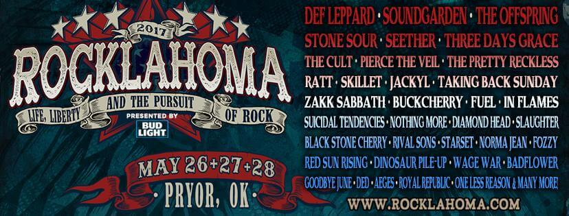 2017 Rocklahoma Lineup Announced