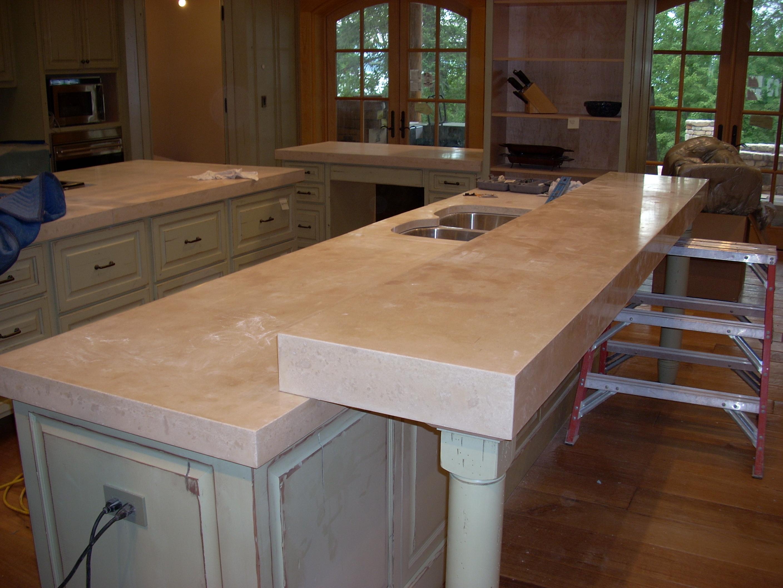p 27 concrete kitchen countertops Concrete countertops Kitchen
