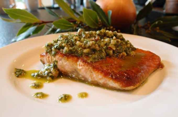 Walnut Lemon Pesto