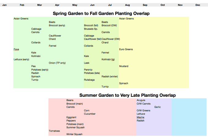 How To Make Succession Planting and Year-Round Gardening Really Work