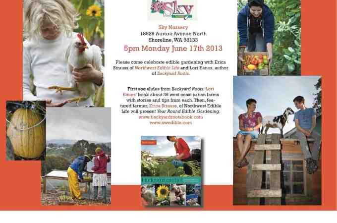 Free Seminar: Year Round Vegetable Gardening – Sky Nursery