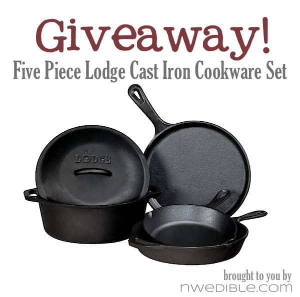 Lodge Cast Iron Giveaway