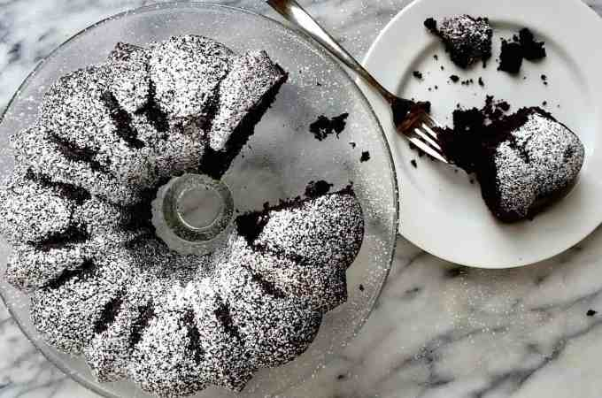 Easy Guinness Chocolate Cake for St. Patrick's Day