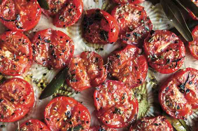 Oven-Roasted Herb Confit Tomatoes