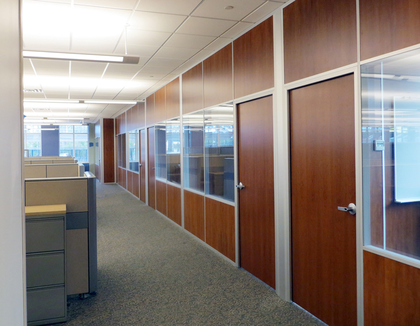 Glass Wall Panels Office