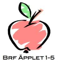 Logga Brf Äpplet 1-5