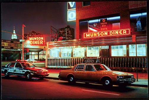 1950s Car Wallpaper New York Architecture Images Munson Diner