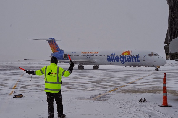 Giving Pease A Chance An Allegiant Air Flight Review