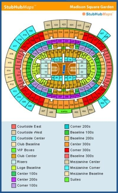Madison Square Garden - Events, Concerts, Seating Chart