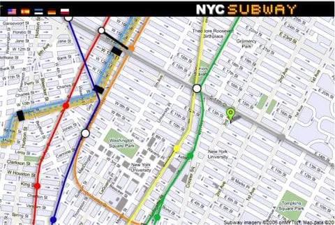 New York City Street Map - FREE NYC Subway, Tourist, Neighborhood