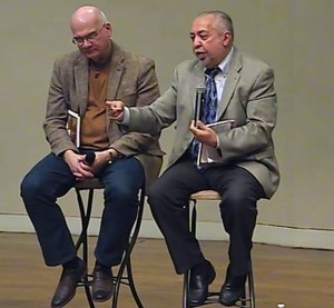 Rev Ray Rivera (r) with Rev Tim Keller