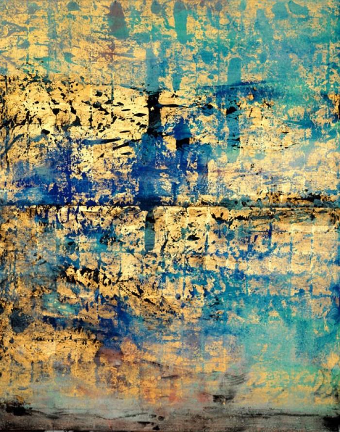 Painting: Fujimura Golden Sea