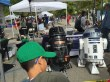 Checkin out the Droids at Maker Faire