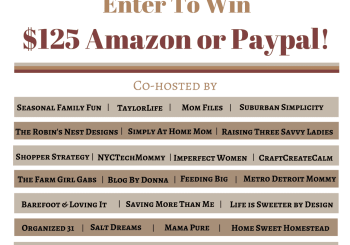 Giveaway: Win $125 Paypal Cash or Amazon Card