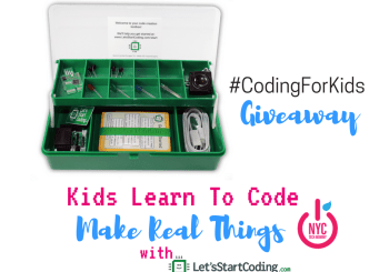 Let's Start Coding: Kids Learn to Code, Make Real Things  + GIVEAWAY