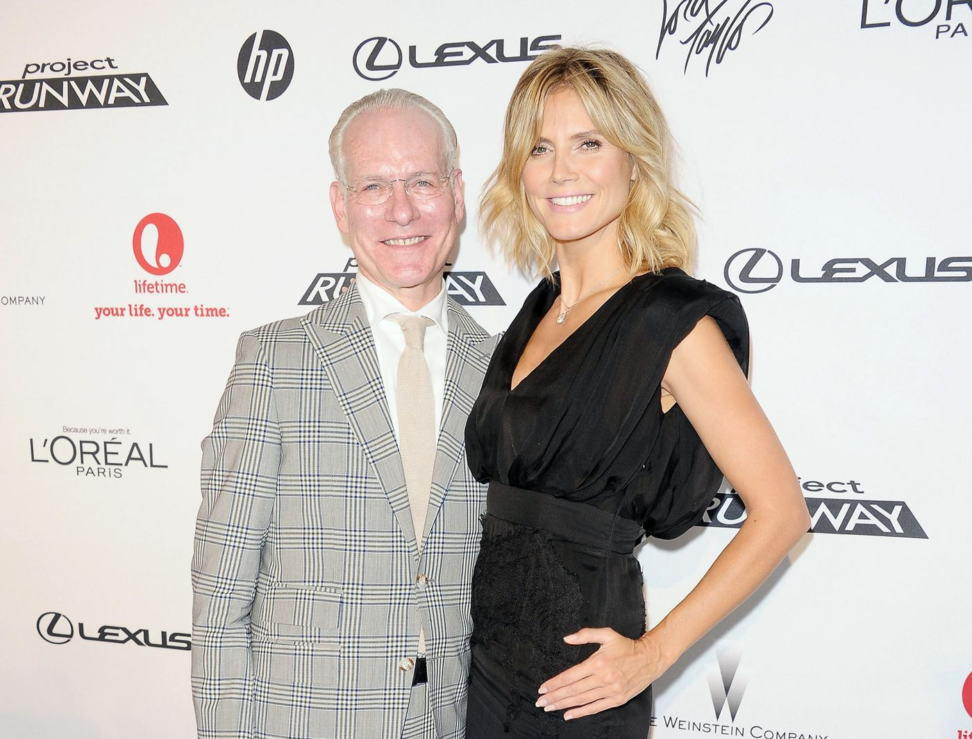 Heidi Klum And Tim Gunn Say Goodbye To 39project Runaway