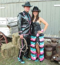 Small Of Duct Tape Prom Dress