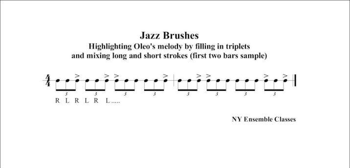 Jazz Brushes - Oleo (intro)