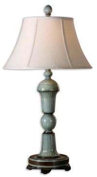 Uttermost 27683 Attilio Antique Blue Table Lamp $217.80