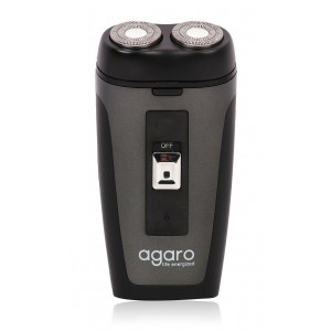Agaro DS-581 Two-Head Rotatory Quick Shaver