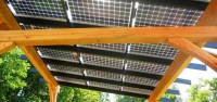 Solar Pergola On Wooden Beams - NYREER - New York ...