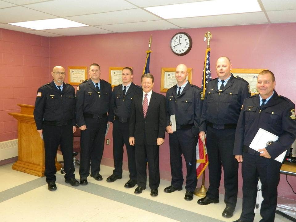 Senator Gallivan Honor NY Correctional Officers NY State Senate - new york state correction officer