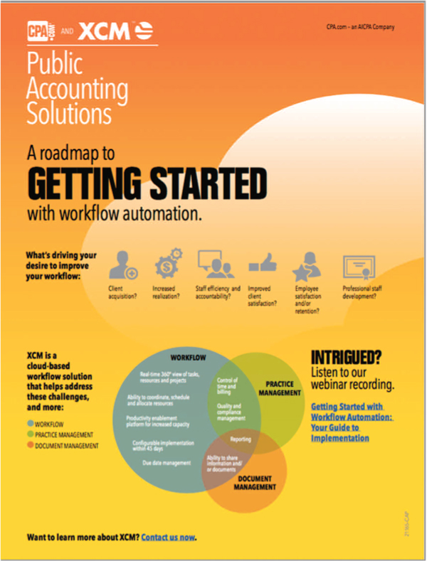 Tax Office Workflow Resources - The CPA Journal