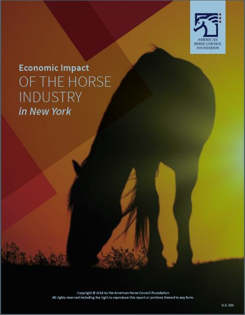 Equine industry thriving in New York grows by $11 billion, adds
