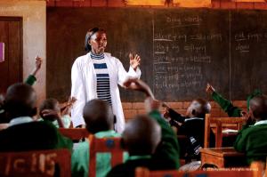 Teacher Kenya Africa Nyumbani Village