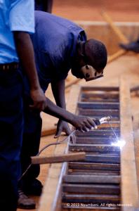 Metalsmithing vocational education Kenya Africa Nyumbani