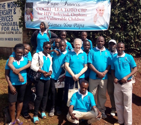Nyumbani and Pope Francis in Kenya