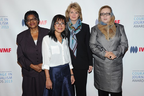 The 2013 IWMF Courage In Journalism and Lifetime Achievement Awards