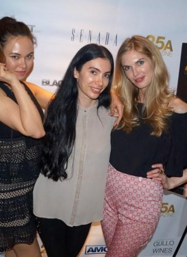 Rosa Sheldon, Elana Barkats, Angela Trostle