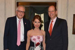Dr. Fredric Weinbaum, Jean Shafiroff, Robert S. Ch