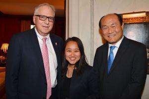Dr. Fredric Weinbaum, Shanti Wong, Dr. Samuel R