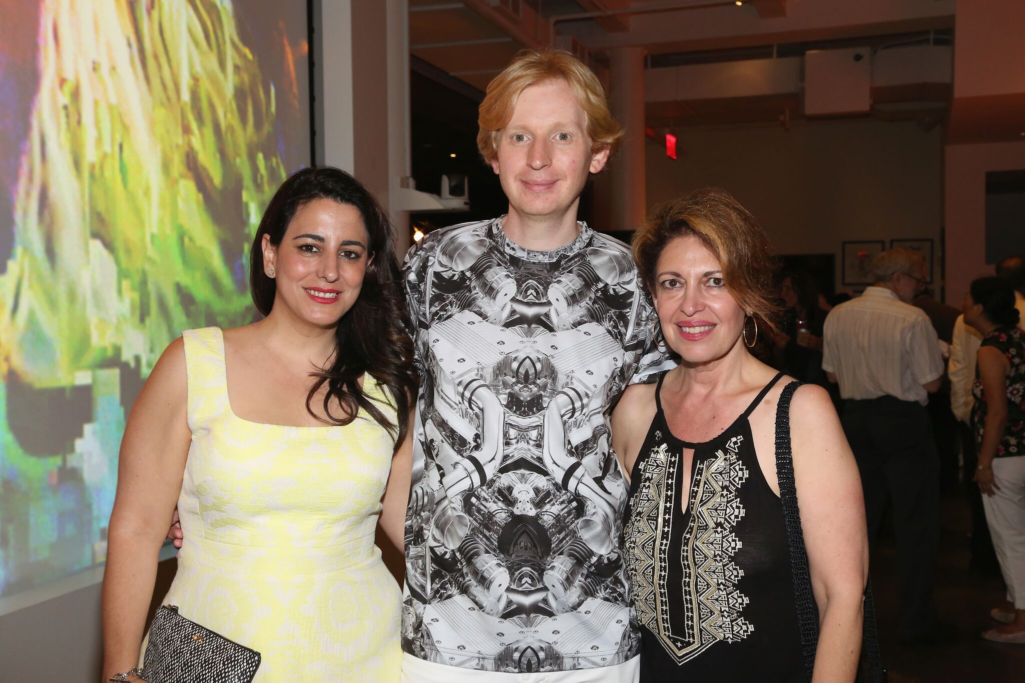 MvVO ART And Accessible Art Fair Held A Summer Soiree With New Partner,  Microblogging Platform And Social Networking Website Tumblr, On Friday,  July 8th, ...