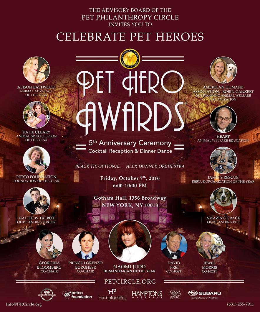 Jean Shafiroff, Alex Donner & Amanda Bowman Host Kick-off to 5th Annual Pet Philanthropy Circle Pet Hero Awards