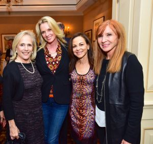 Ann Barish, Debbie Loeffler, Bettina Zilkha and Nicole Miller