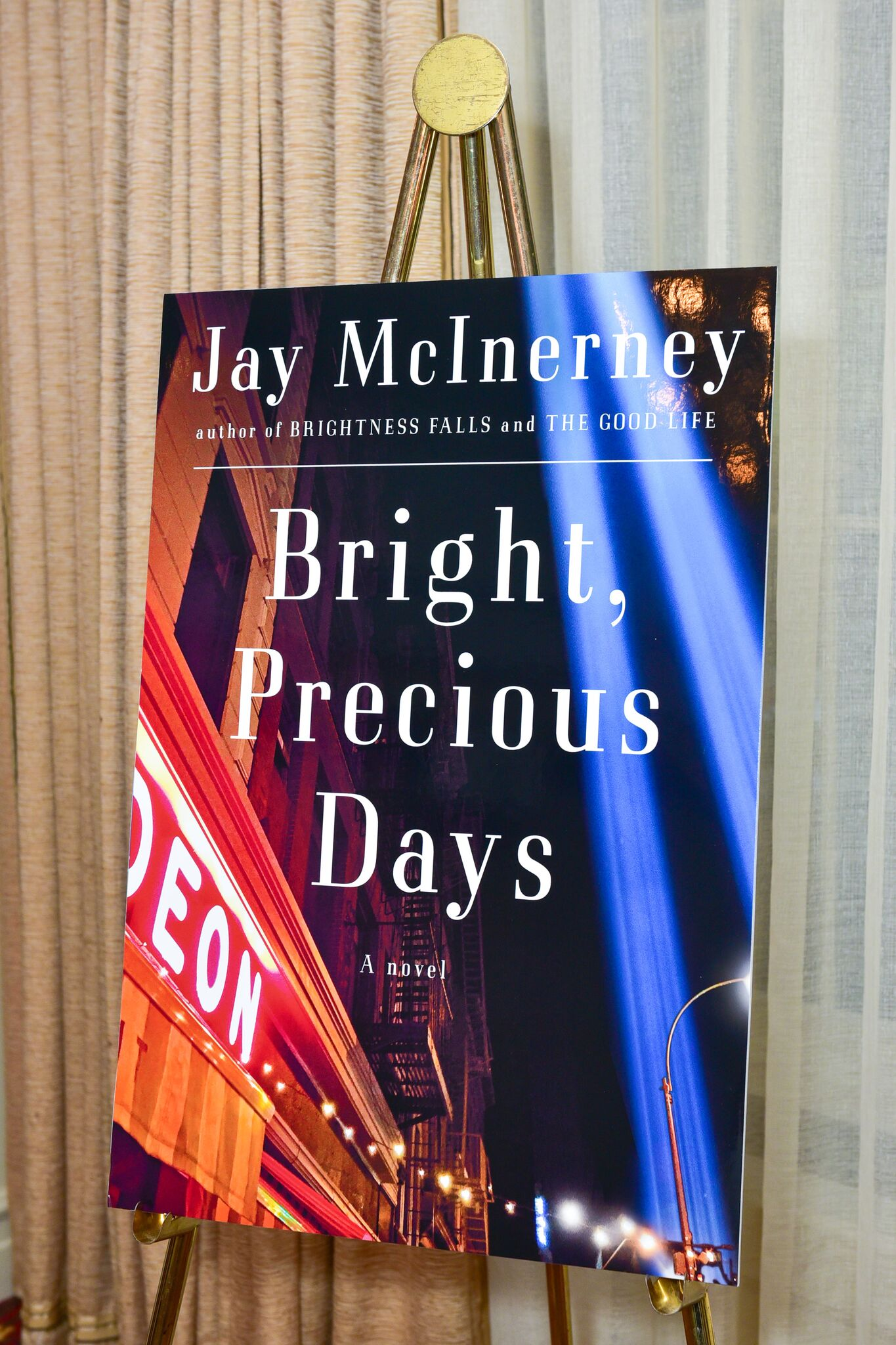Audrey Gruss Celebrates Publication of Jay McInerney's 'Bright, Precious Days'