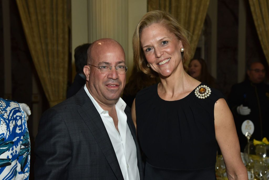 Jeff Zucker andLouisa Benton_Credit Jared Siskin