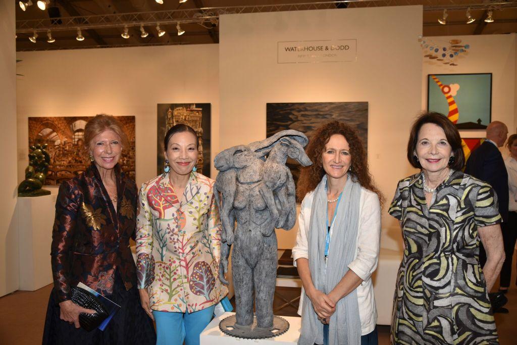 Susie Staikos, Christine Aylward, Sophie Ryder and Sally Soter_Photo Credit Annie Watt