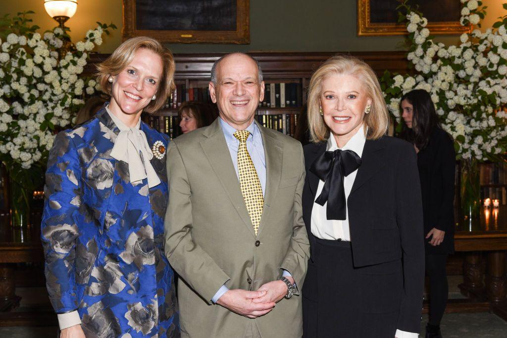 Louisa Benton, Dr. Eric Nestler and Audrey Gruss_Credit Presley Ann:PMC