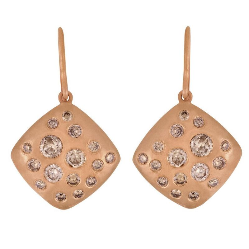 ose Gold Drop Earrings