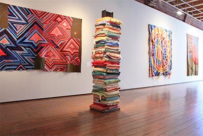 Annie Watt - Installation Views of Receiver, 2014, at Greg Kucera Gallery