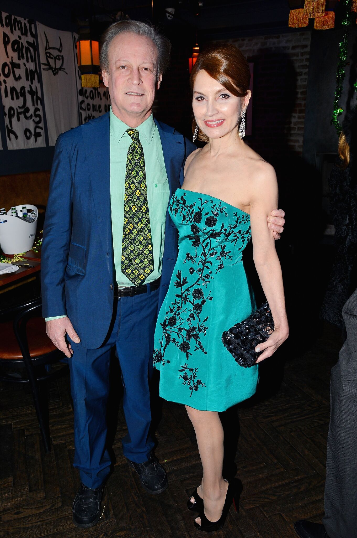 Philanthropist Jean Shafiroff Hosts Surprise St. Patrick's Day Dinner for Patrick McMullan