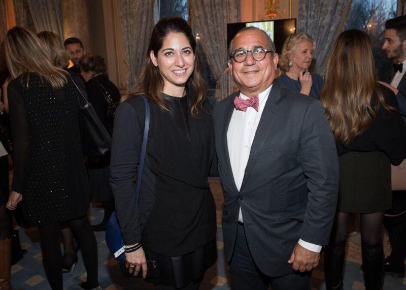 Redken's Nathalie Banker and George Ledes