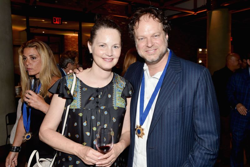 Emily Hartman and Jesse Hartman _Credit Patrick McMullan