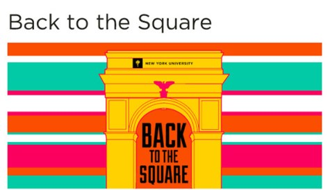 Back to the Square welcomes returning students